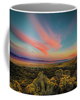 Reflections Of A Sunset Unseen Coffee Mug