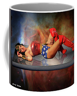 Reflections Of A Wonder Woman Coffee Mug