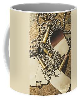 Reflections Of Battle Coffee Mug