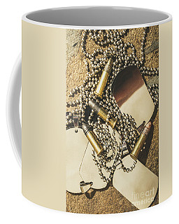 Coffee Mug featuring the photograph Reflections Of Battle by Jorgo Photography - Wall Art Gallery