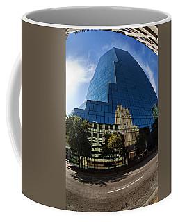 Reflections Of Fort Worth Coffee Mug