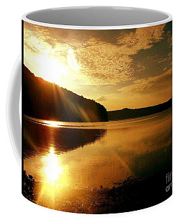Reflections Of The Day Coffee Mug by Scott D Van Osdol