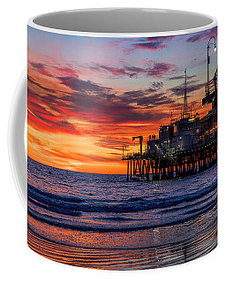 Reflections Of The Pier Coffee Mug