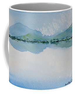 Reflections Of The Skies And Mountains Surrounding Bathurst Harbour Coffee Mug