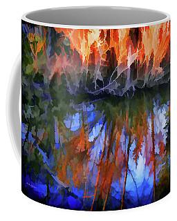 Reflections On A Small Pond Coffee Mug