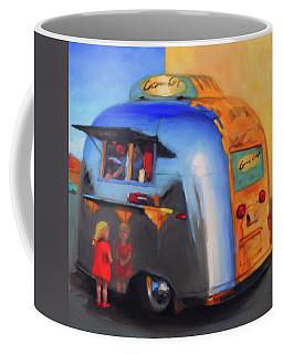 Reflections On An Airstream Coffee Mug