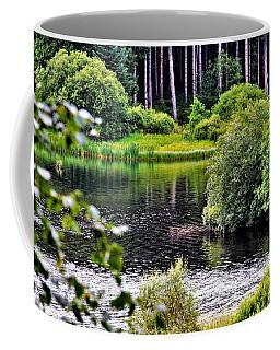 Reflections On Kielder Water Coffee Mug