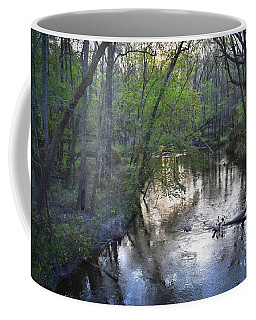 Coffee Mug featuring the photograph Reflections On The Congaree Creek by Skip Willits