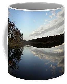 Coffee Mug featuring the photograph Reflections On The Lake by Chris Berry