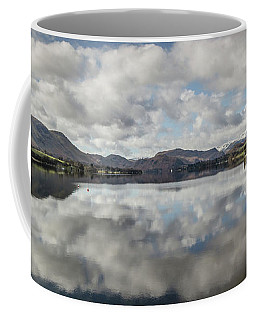 Coffee Mug featuring the photograph Reflections On Ullswater by RKAB Works