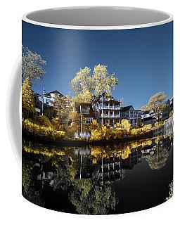 Reflections On Wesley Lake Coffee Mug by Paul Seymour