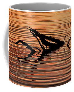 Reflective Abstract Coffee Mug