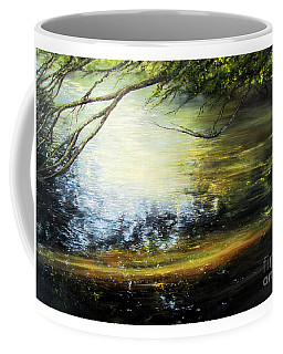 Reflective Mood Coffee Mug by Valerie Travers