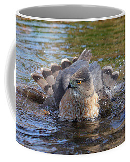 Coffee Mug featuring the photograph Refreshing Bath by Doris Potter
