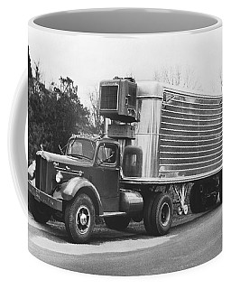 Refrigerated Semi Trailer Coffee Mug