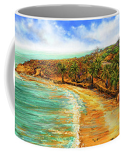 Refuge Of Tranquility - Refugio State Beach Park California Art Coffee Mug