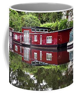 Regent Houseboats Coffee Mug by Keith Armstrong