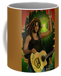 Reggae Peace Man Coffee Mug