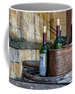 Coffee Mug featuring the photograph Regusci Winery by Bill Gallagher