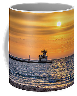 Coffee Mug featuring the photograph Rehabilitation Rising by Bill Pevlor
