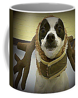 Reindeer Dog Coffee Mug