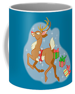 Reindeer Gifts Coffee Mug by J L Meadows