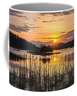 Rejoicing Easter Morning Skies Coffee Mug