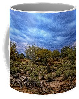 Coffee Mug featuring the photograph Rejuvenation Op19 by Mark Myhaver