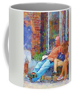 Relaxin Cowboy Coffee Mug by Ricky Dean