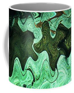 Relaxing Abstract Of Rays And Sharks Coffee Mug