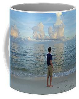 Relaxing By The Ocean Coffee Mug