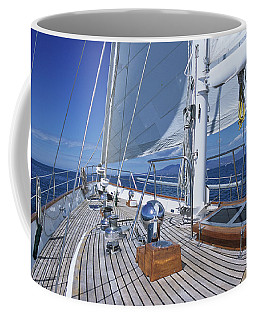 Relaxing On Deck Coffee Mug