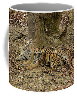 Relaxing Coffee Mug by Pravine Chester