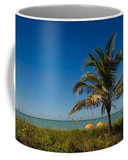 Relaxing Under The Palm Coffee Mug