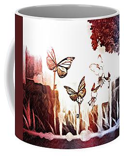 Releasing Keys Coffee Mug