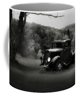 Coffee Mug featuring the photograph Relic Truck by Bill Wakeley