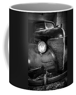 Old Car - Blue Ridge Mountains Coffee Mug