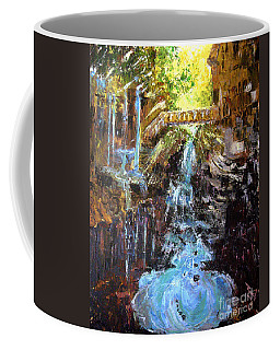 Coffee Mug featuring the painting Relics by Reed Novotny