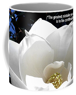 Relief 2, With Quote.  Coffee Mug