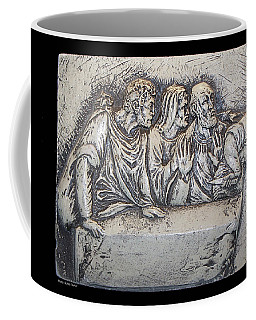 Relief On Plaster Coffee Mug by Suhas Tavkar