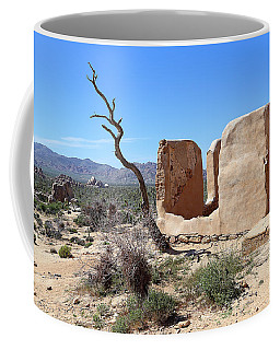 Coffee Mug featuring the photograph Remain Standing Of Ryan Ranch  by Viktor Savchenko