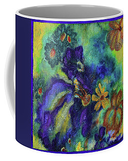 Remember The Flowers Coffee Mug by Donna Blackhall