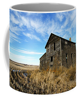 Coffee Mug featuring the photograph Remember The Past Work For The Future 2 by Bob Christopher