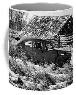 Coffee Mug featuring the photograph Remember The Past Work For The Future by Bob Christopher