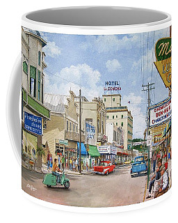 Remembering Duval St. Coffee Mug by Bob George