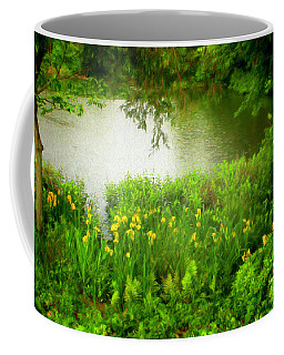 Coffee Mug featuring the photograph Remembering Springtime by Ola Allen