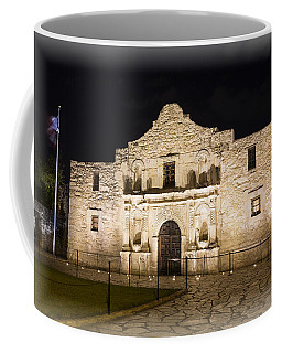 Remembering The Alamo Coffee Mug