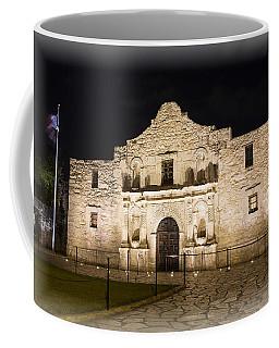 Remembering The Alamo Coffee Mug by Stephen Stookey