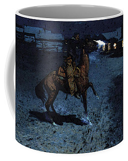 Remington Frederic An Arguement With The Town Marshall Coffee Mug