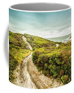Remote Australia Beach Trail Coffee Mug